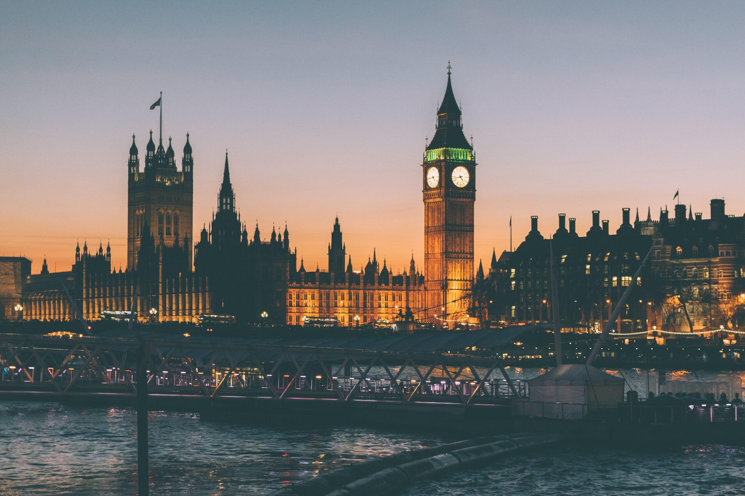 London weekend away