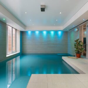 House with private swimming pool London