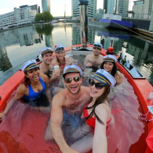 hot tub boat London
