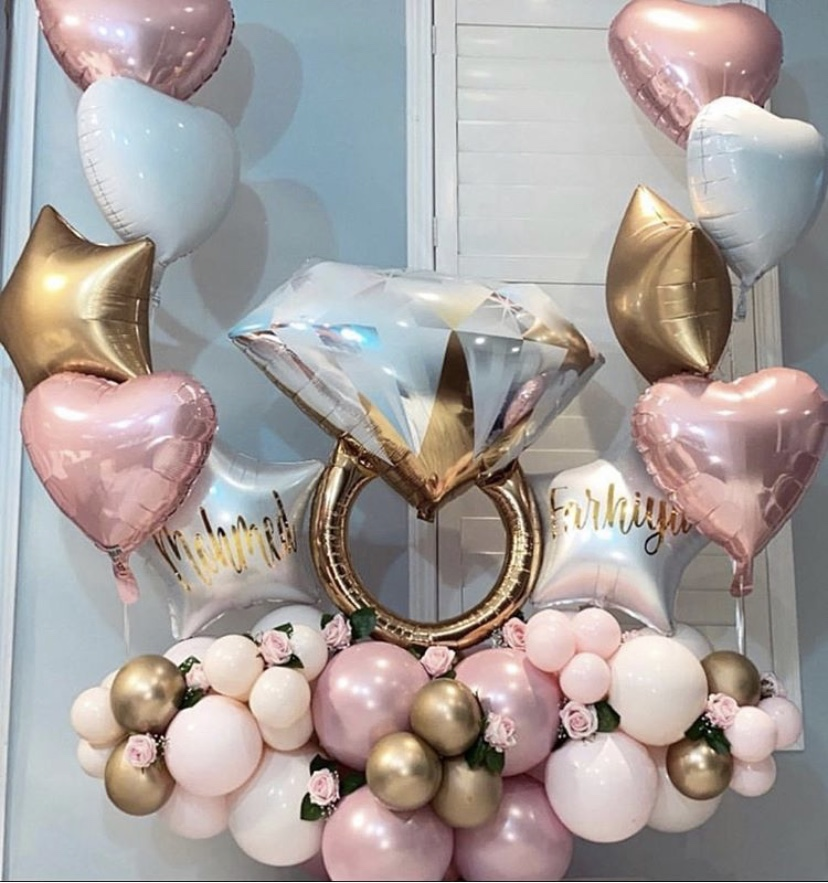 Decor and balloon delivery London