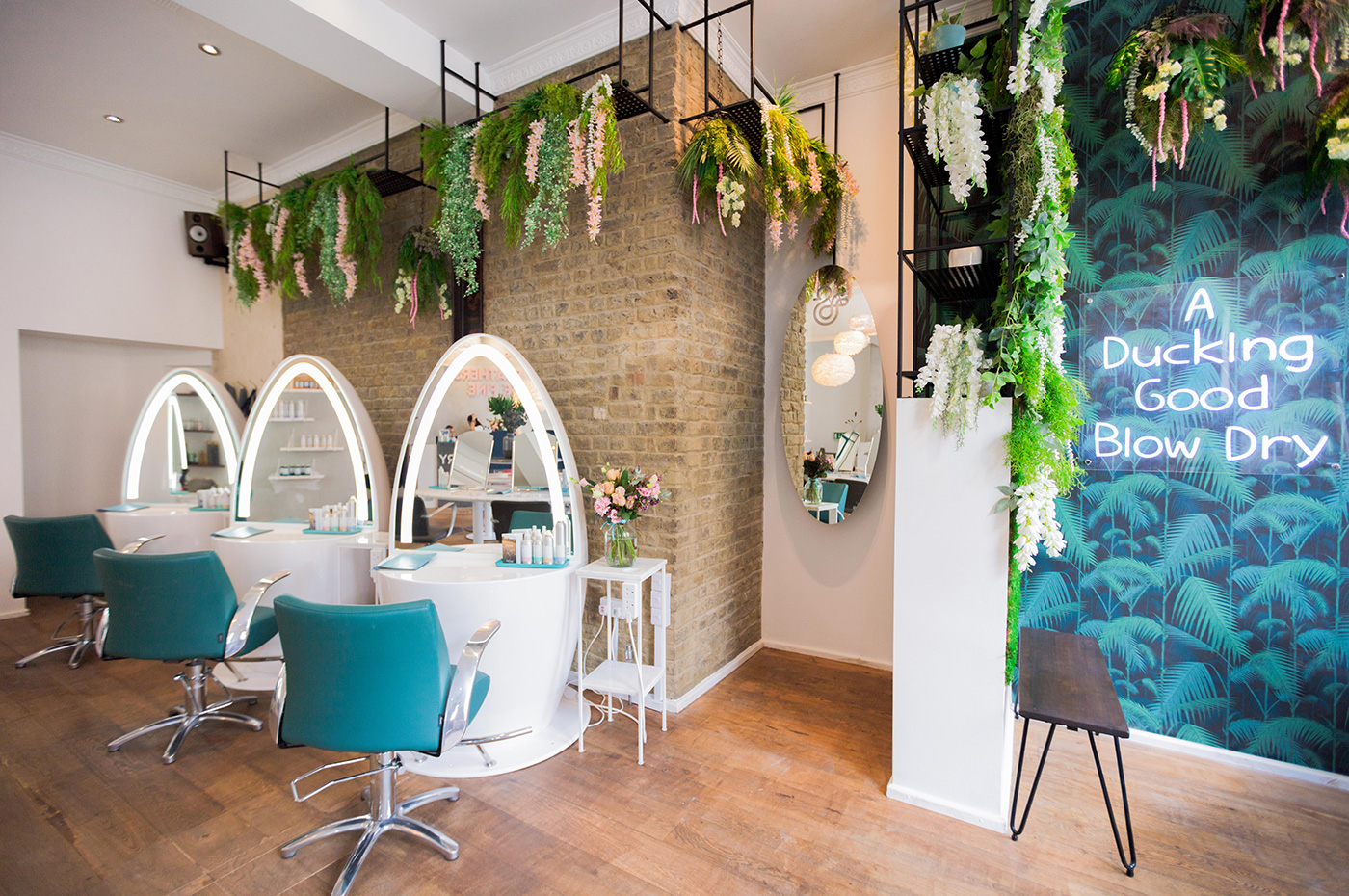 Duck & Dry Blow-dry Bar London Hen Party Blow Dry Package