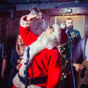 christmas bottomless boozy brunch london 2020