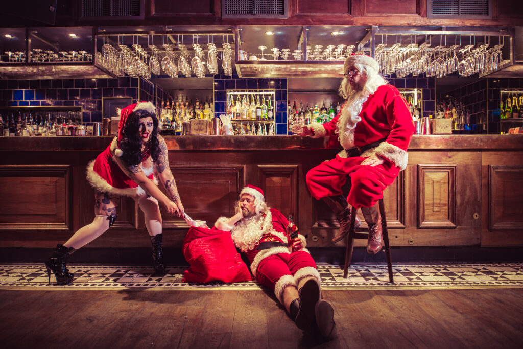 Christmas cabaret tonight josephine london boozy christmas brunch bottomless