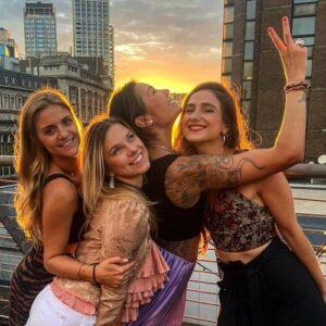 rooftop bar bottomless brunch london