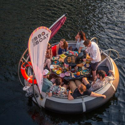 bbq boat London